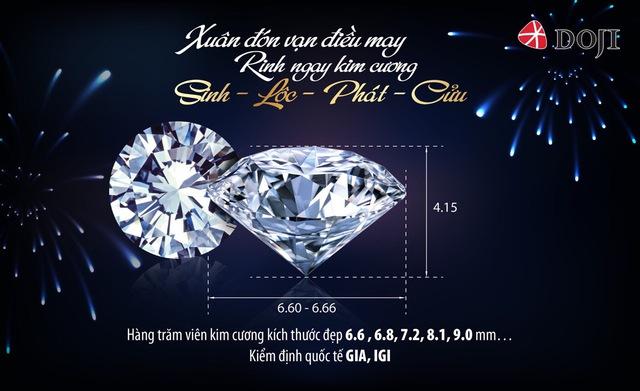 Có kiểm định quốc tế như GIA, IGI, những viên kim cương Sinh – Lộc – Phát – Cửu còn đảm bảo tối đa về giá trị cũng như chất lượng, khiến người sở hữu hoàn toàn yên tâm.