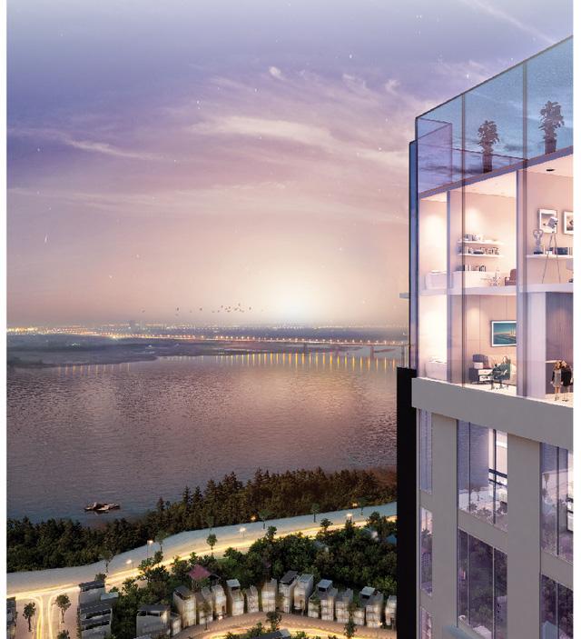 """Cơ hội đầu tư hấp dẫn từ vị thế """"Nhất cận thị, nhị cận giang, tam cận lộ"""" của Sun Grand City Ancora Residence."""