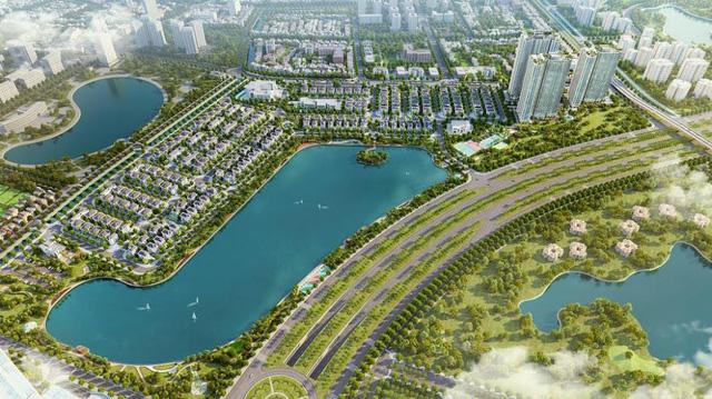 Tổng thể dự án Vinhomes Green Bay.