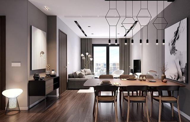 Căn hộ The EverRich Infinity được thiết kế theo phong cách châu Âu sang trọng với nội thất cao cấp từ các thương hiệu Teka, Kohler...