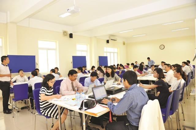 Khóa đào tạo tại Trường Đào tạo và Phát triển Nguồn nhân lực VietinBank.