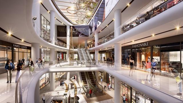 Trung tâm thương mại đẳng cấp và tiện ích vượt trội tại A&B Central Square.