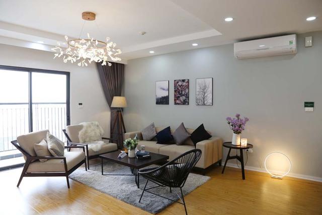 Nhiều khách hàng bày tỏ, thiết kế đồng bộ của căn hộ mẫu sẽ là gợi ý lý tưởng để làm nội thất khi nhận nhà.