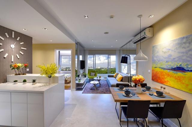 Các căn hộ Dragon Hill được thiết kế thoáng đãng giúp tận dụng tối đa ánh sáng và không khí, tối ưu hóa công năng sử dụng.