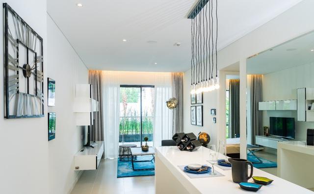 Căn hộ 1 phòng ngủ tại Gateway Thao Dien.