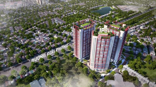 Dự án Imperial Plaza - điểm nhấn khu căn hộ cao cấp trên đường Giải Phóng.