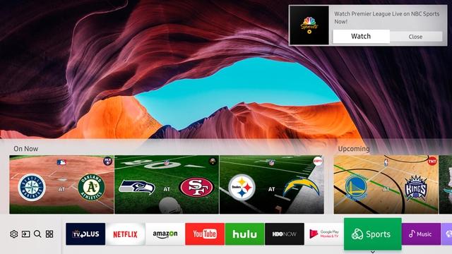Samsung Sports cung cấp những thông tin cần thiết cho những fan thể thao.