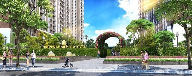 Imperia Sky Garden – Dự án sắp ra mắt của MIK Group tại phía Nam Hà Nội.