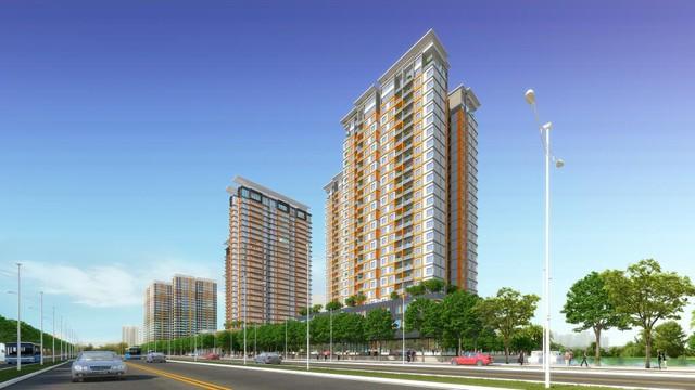 """Dự án Dragon Hill nổi bật với vị trí trung tâm của """"thành phố Rồng"""" với những block căn hộ được thiết kế đặc sắc."""
