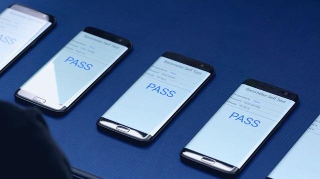 Yếu tố an toàn luôn được Samsung chú trọng và đề cao.