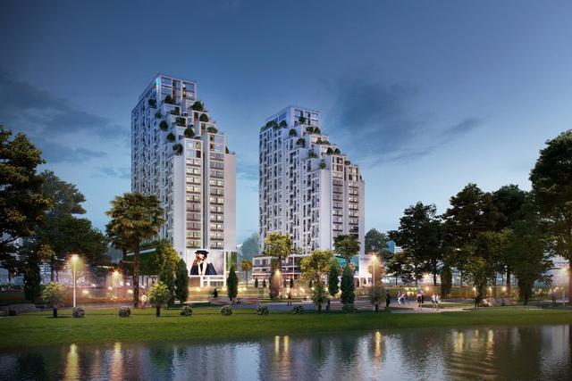 Luxgarden, căn hộ sân vườn và tầm nhìn sông Sài Gòn.