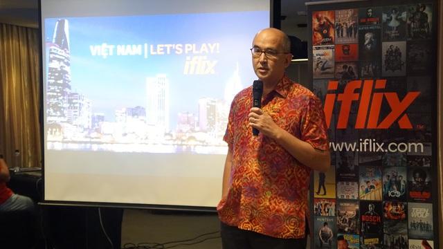 Ông David Godstein, Giám đốc iflix khu vực Châu Á.
