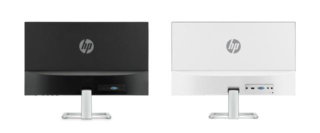 HP 24es với mặt sau màu đen sang trọng và HP 24er với mặt sau màu bạc tươi sáng sẽ là lựa chọn hợp lý cho những không gian hiện đại.