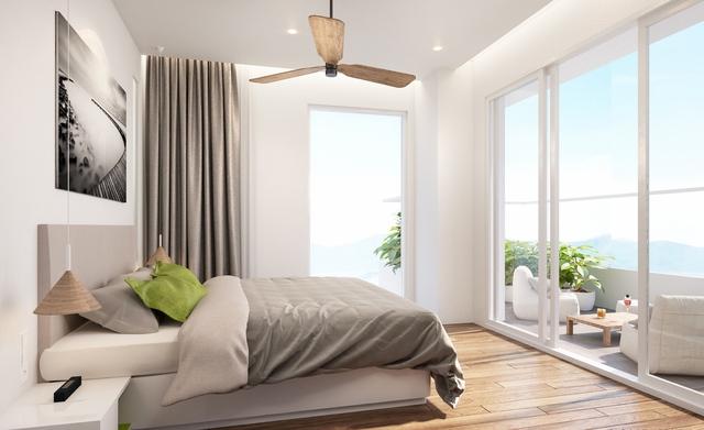 Ariyana Smart Condotel với 394 căn hộ khách sạn chuẩn 4 sao, đa dạng diện tích từ 49 – 114m2, được trang bị 100% nội thất cao cấp.