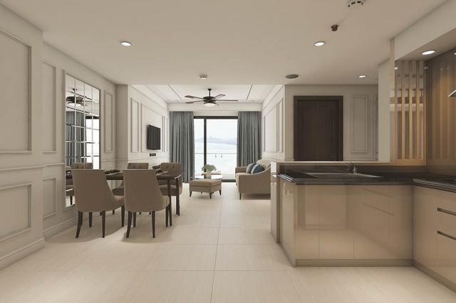 Các căn hộ Luxury Apartment được thiết kế tinh tế.
