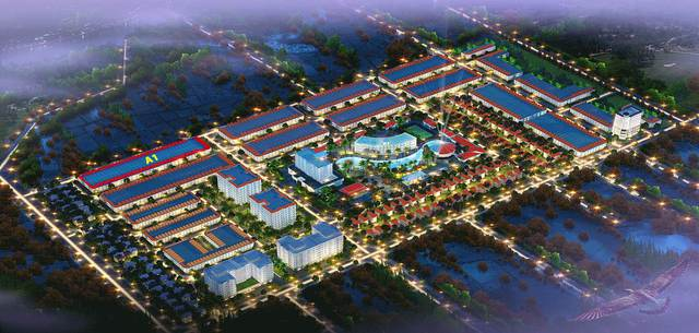 Phối cảnh tổng thể KĐT Du lịch Hoàng Long – phía Tây Nha Trang.
