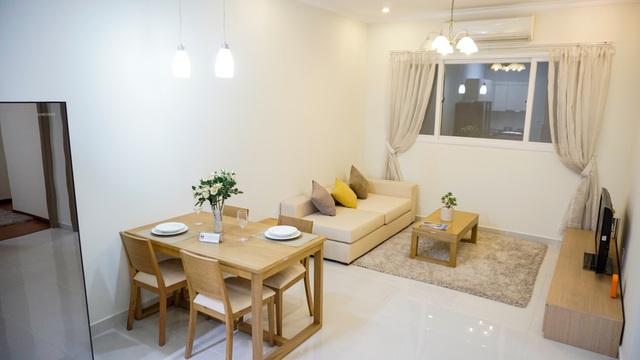 Thiết kế phong cách Hàn Quốc tại căn hộ Green Town Bình Tân.
