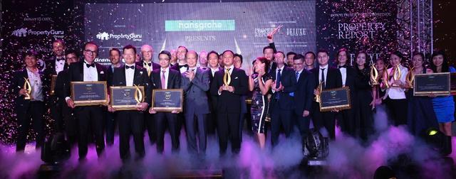 Các đơn vị và cá nhân được tôn vinh tại Vietnam Property Awards 2016.