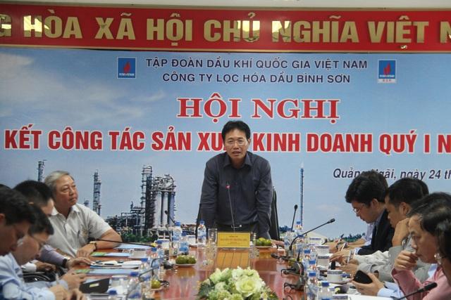 Ông Nguyễn Vũ Trường Sơn - Chủ tịch kiêm TGĐ PVN phát biểu chỉ đạo tại hội nghị.