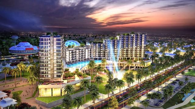 FLC Grand Hotel gây chú ý tại miền duyên hải của Sầm Sơn, Thanh Hoá.