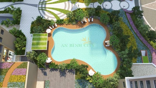 70% diện tích tại dự án An Bình City là dành cho cảnh quan và không gian xanh.