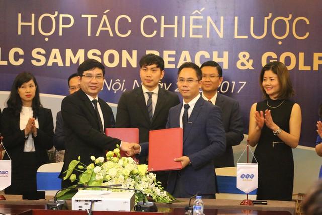 Ngày 23/03/2017 Danko Group chính thức trở thành nhà phân phối Dự án FLC Samson Beach & Golf Resort.