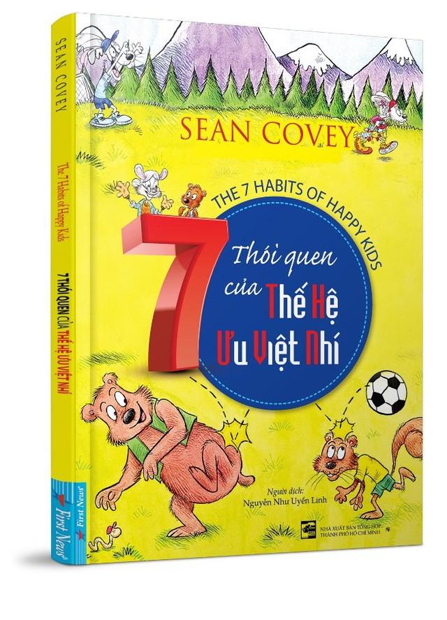 Ấn phẩm 7 Thói quen của thế hệ ưu việt nhí, tác giả Sean Covey.