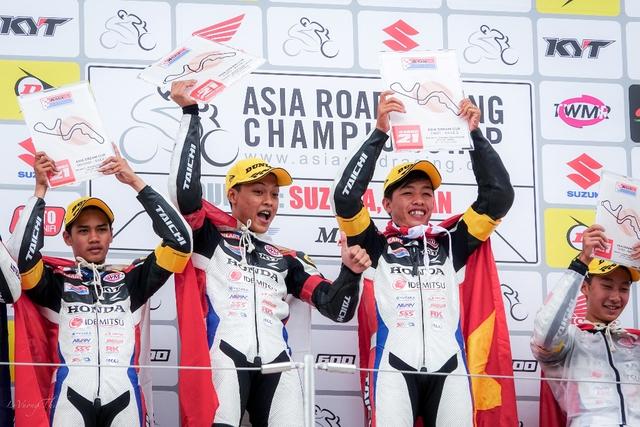 Về nhất chặng cuộc đua mô tô châu Á, chàng trai Việt chia sẻ bí quyết chiến thắng - Ảnh 3.