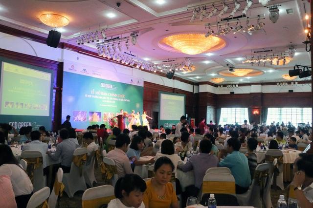 Hình ảnh tại lễ mở bán ngày 05/07 tại KS Grand Plaza, Hà Nội