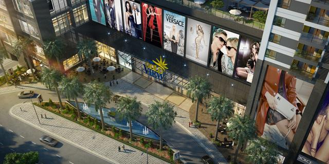 Trung tâm thương mại The GoldView được quản lý bởi CBRE