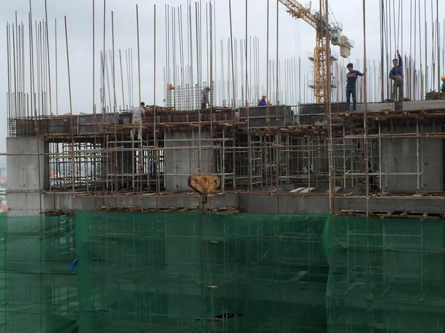 Tiến độ xây dựng dự án Thăng Long Victory tháng 9/2015