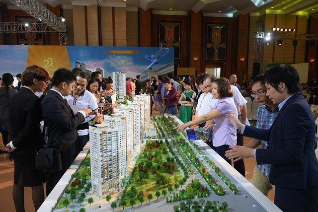 The Sun Avenue không chỉ hút khách đầu tư Miền Nam mà còn hút khách đầu tư miền Bắc (Triển lãm dự án Novaland tại Hà Nội)