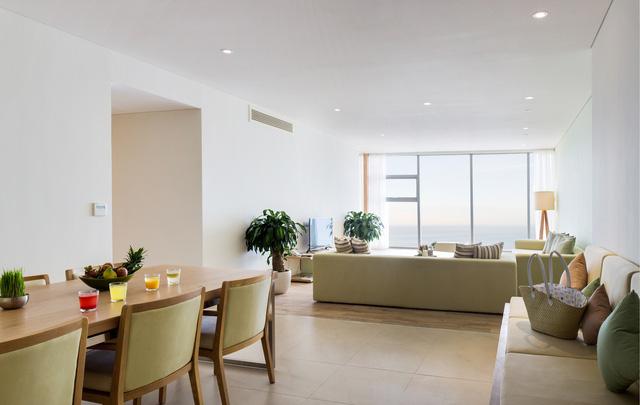20 căn hộ được chào bán từ 20/10 có diện tích rộng hơn và tầm nhìn ra biển với nội thất đương đại trang nhã