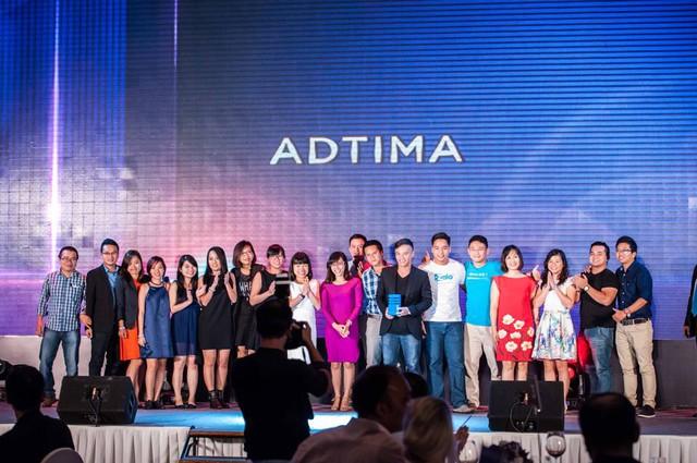 Adtima – đơn vị khai thác độc quyền Zalo là Agency of the year của The Smarties 2015.