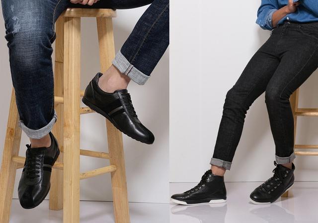 Thiết kế thời trang và sự kết hợp tương phản với gam màu làm cho đôi giày của nam giới từ các bộ sưu tập Simplicity thật đáng ngạc nhiên, khiêm tốn nhưng sự xuất hiện với tần suất liên tục.