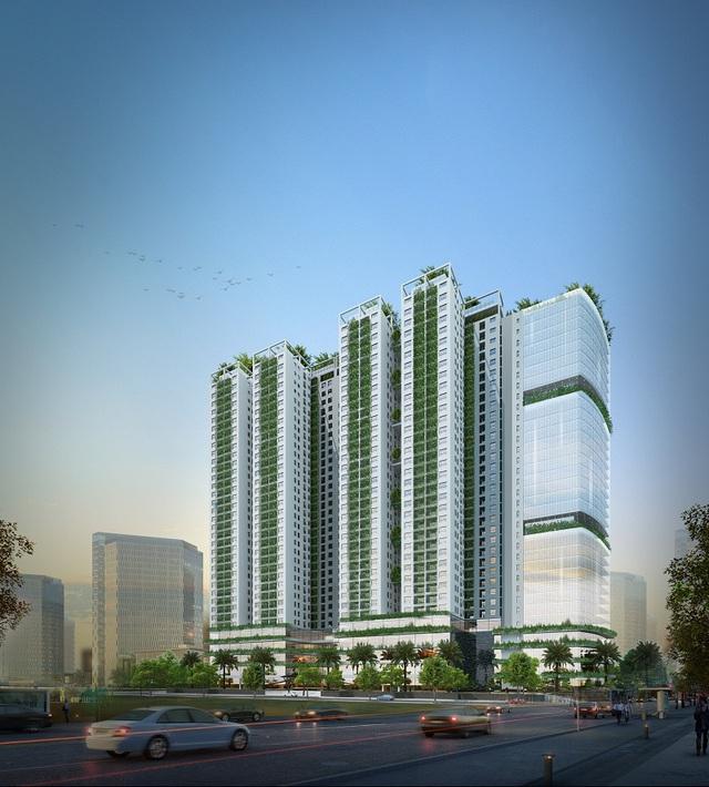 EcoLife Capitol – Cuộc sống xanh cho ngôi nhà thông minh.