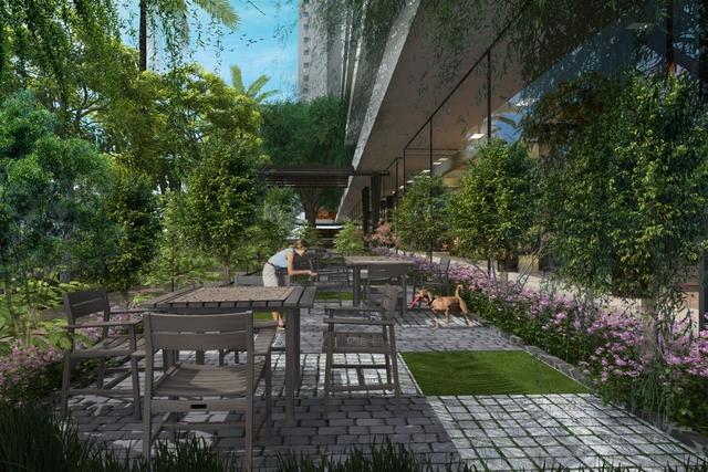 Mật độ xây dựng tại EcoLife Capitol chỉ khoảng 38%, phần diện tích còn lại được dành cho khoảng xanh và hệ thống tiện ích.