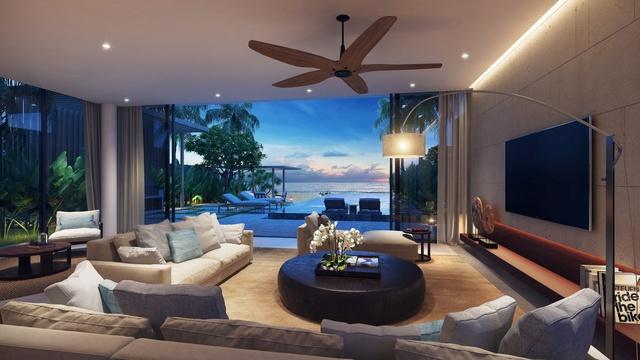 Biệt thự nghỉ dưỡng là điểm lý tưởng để tận hưởng giá trị cuộc sống vào dịp cuối tuần