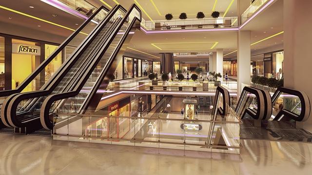 Trung tâm thương mại Xi Grand Court có diện tích 60.000 m2, lớn nhất khu vực quận 10.