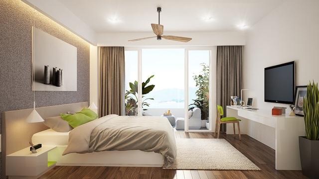 Mỗi căn condotel được trang bị 100% nội thất cao cấp