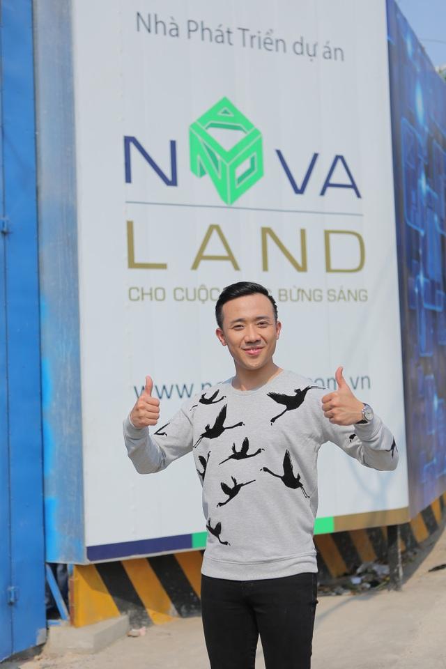 Khi dự tính một căn hộ cho riêng mình, Trấn Thành nghĩ ngay tới Tập đoàn uy tín Novaland.