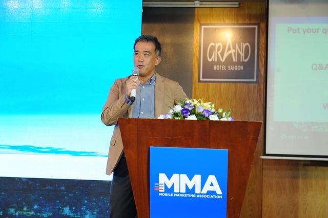 Ông Aoki Toshinori, Co-chair MMA Vietnam