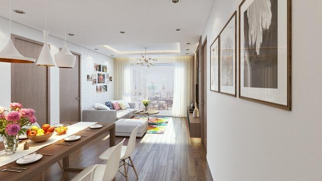 Các căn hộ Eco Green City được thiết kế mở, đảm bảo 100% căn hộ đều đón nắng, đón gió tự nhiên