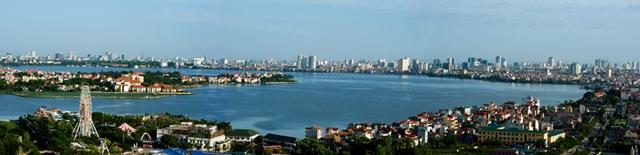 Bán đảo Quảng An là nơi an cư lý tưởng với mật độ cây xanh bao phủ 74% diện tích.