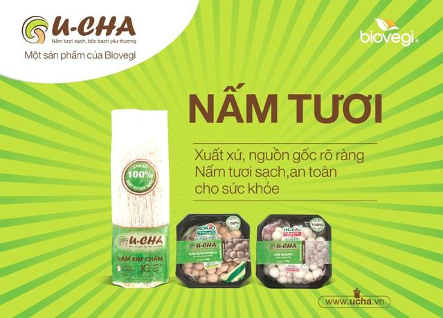 Báo Afamily.vn - Biovegi ra mắt nhãn hàng nấm tươi U-cha