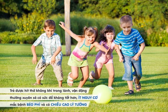 6 lợi ích không ngờ từ việc cho trẻ vui chơi ngoài trời - Ảnh 1