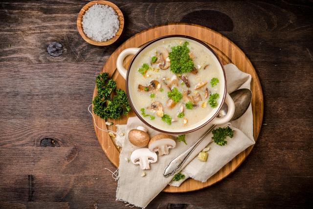 Khai vị tuyệt hảo cùng súp kem nấm - Ảnh 6.