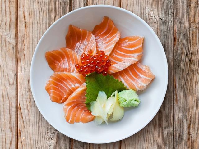 Sashimi cá hồi chuẩn tươi ngon tại nhà - Ảnh 6.
