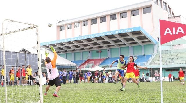 Tranh tài sôi nổi của các đội bóng tham gia AIA Championship