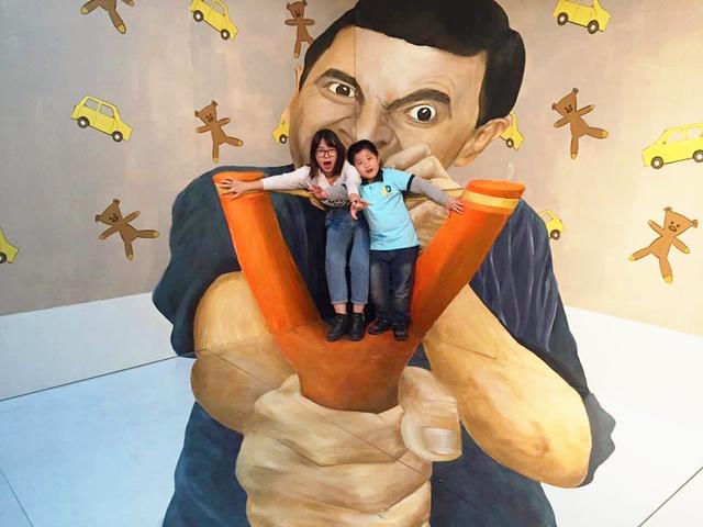 """Kích thích đam mê sáng tạo của trẻ tại Thế giới tranh 3D """"ảo mà như thật"""" - Ảnh 3."""